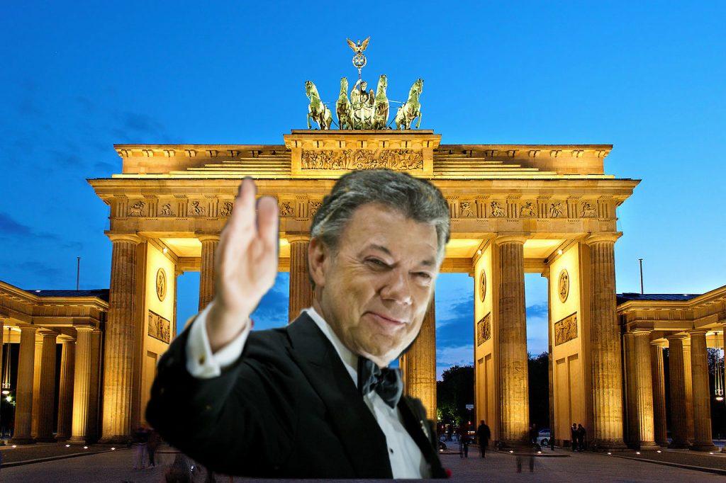 Santos remató la casa de la embajada en Alemania