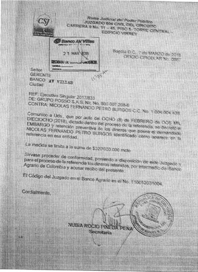 """banco 2 - """"Cuando mi papá gane la presidencia le pago los $120 millones"""" Nicolas Petro"""