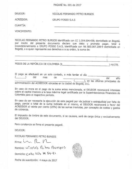 """pagar%C3%A9 - """"Cuando mi papá gane la presidencia le pago los $120 millones"""" Nicolas Petro"""