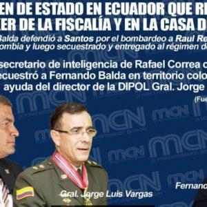 Documentos: El duro de la inteligencia en Colombia salpicado en el caso de Fernando Balda